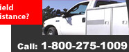 Need Field Service Assistance? Call: 1-800-275-1009